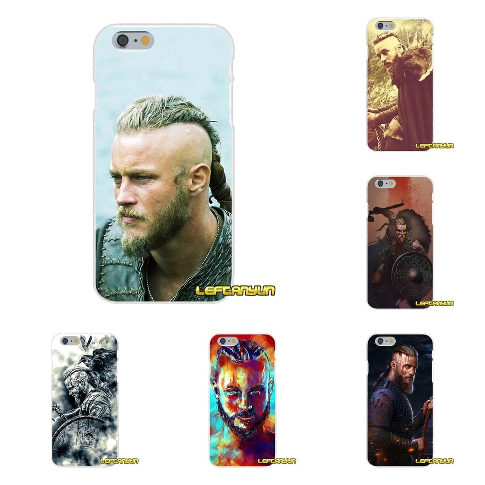 Ragnar Lothbrok Vikings Slim Silicone phone Case For Samsung Galaxy S3 S4 S5 MINI S6 S7 edge S8 S9 Plus Note 2 3 4 5 8