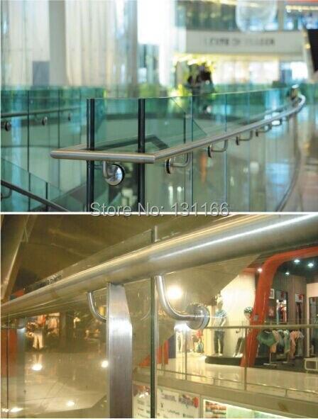 Stair Handrail Fittings / Glass Holder 90 Degrees