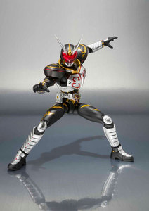 "Image 5 - ญี่ปุ่น Kamen ""Masked Rider Blade"" Original BANDAI Tamashii Nations SHF/S. h. figuarts ของเล่น Action Figure   Chalice"