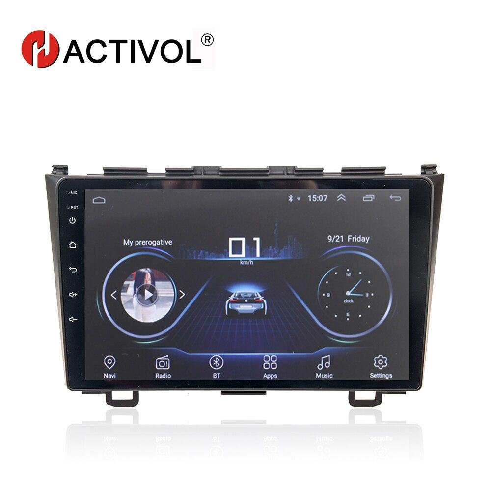 HACTIVOL android 8 1 car dvd gps player for Honda CRV CR V 2006 2011 car
