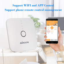 KKmoon Wifi Wireless 433mhz Android IOS APP Remote Control RFID Security WiFi Burglar Alarm System With PIR Motion Sensor