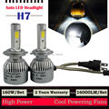 TAITIAN 160W 16000LM H7 LED Headlight Kit Driving Light Bulb 6000K White High Power