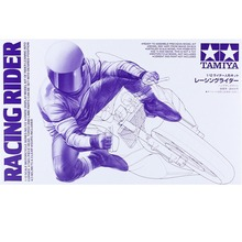 Tamiya 14122 1/12 Racing Rider Figure Supplies for Assembly Scale Motorcycle Model Building Kits TTH