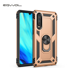 Eqvvol Armor Shockproof Phone Case For Huawei Honor 10 Lite P30 Pro P20 P smart Bracket Cases Stand Holder Cover For Y9 Y7 2019(China)