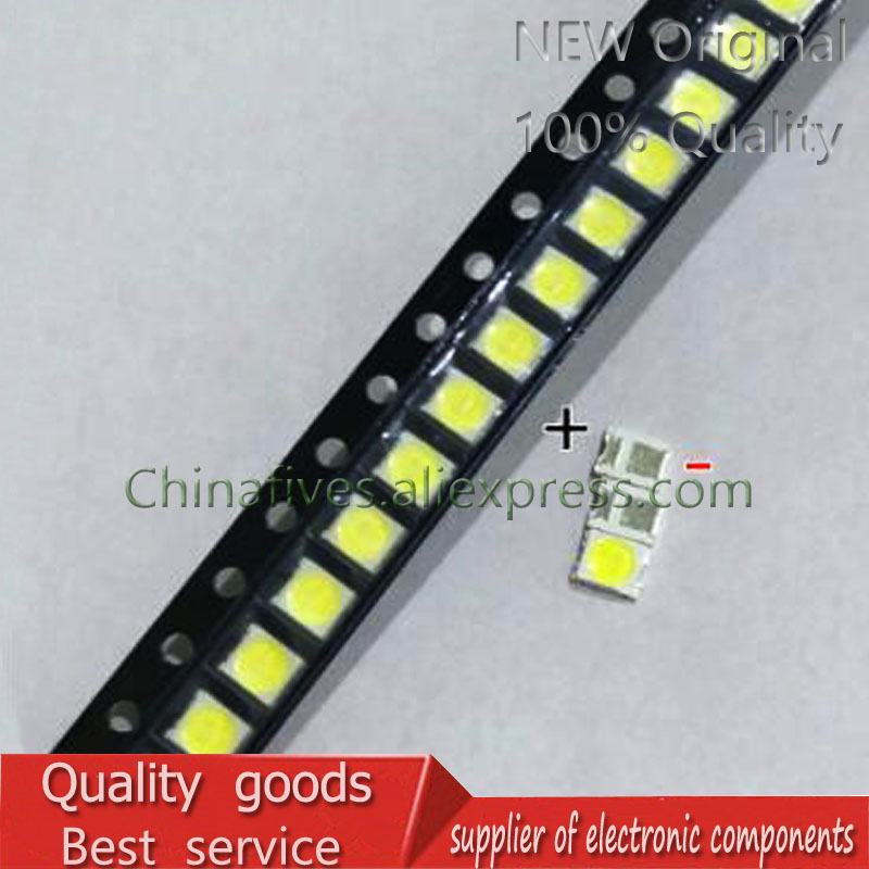 100 PCS Lens Original For LG LED LCD TV Backlight 1 W 3 V 3528 2835 Beads Light White Cold Light