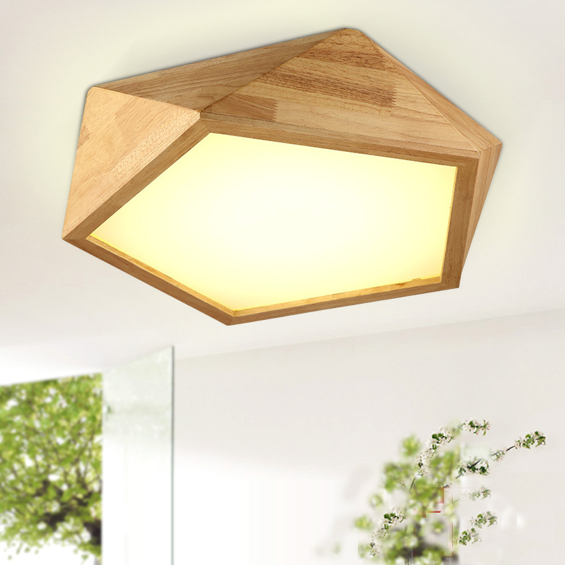 LED Nordic Nuts Wooden Acrylic LED Lamp.LED Light.Ceiling Lights.LED Ceiling Light.Ceiling Lamp For Foyer Bedroom Dinning Room