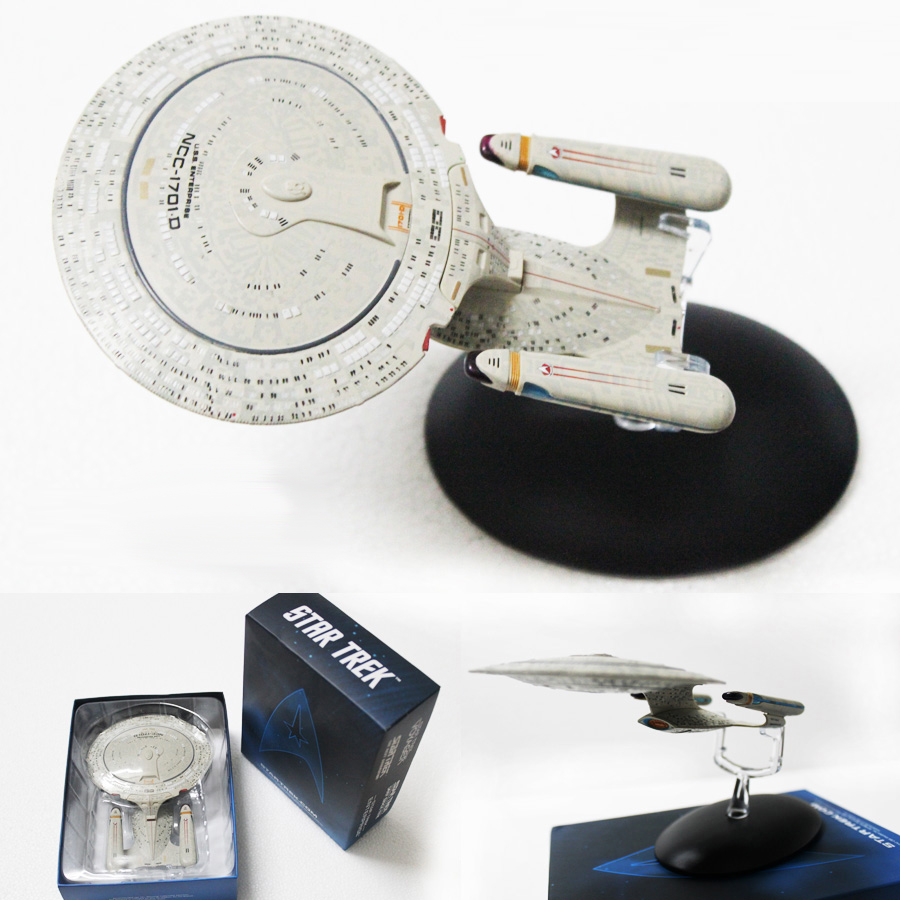 Star Trek USS Enterprise NCC-1701-D Spaceship Model Beyond U.S.S. Startrek Into Darkness Classic Ship Figures Gift Free shipping star trek magazine star ship eaglemoss uss enterprise nx 01 spaceship model 4