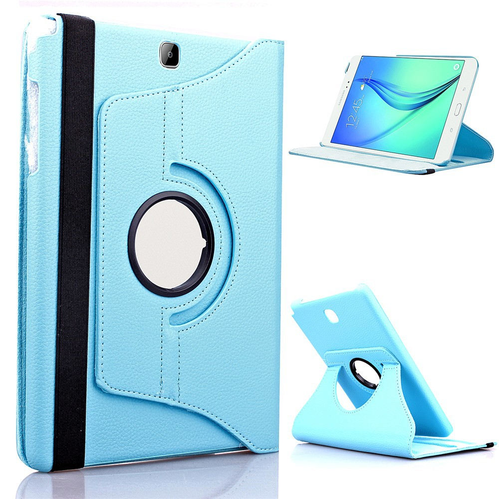 360 Rotating Case Cover For Samsung Galaxy Tab S 10.5 inch Tablet SM-T800 SM-T805 T800 T805 TabS 10.5 Flip PU Leather Case Glass 360 rotary flip open pu case w stand for 10 5 samsung galaxy tab s t805 white