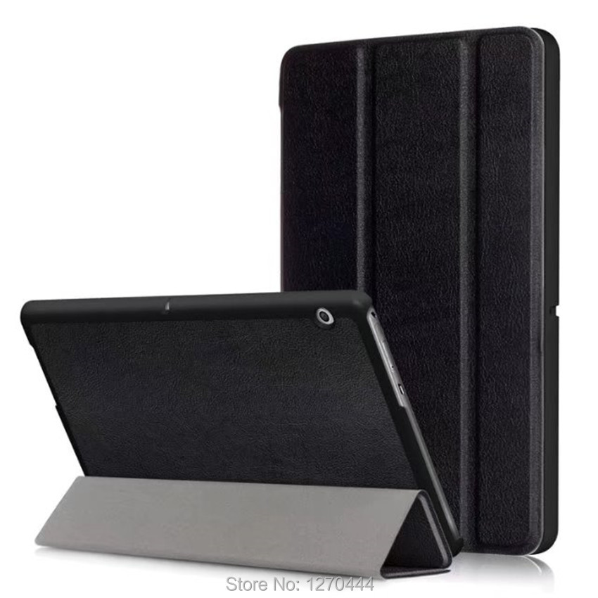 Case for 2017 Honor Play Pad 2 9.6 PU Leather Tablets cover for Huawei MediaPad T3 10 AGS-L09 AGS-L03 9.6'' tablet fundas Cases book leather case tablets accessories business cover fundas for huawei mediapad m2 ple 703l t2 7 0 pro pu stand cases capa