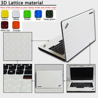 Customization Pure Color ABC Sides Laptop Sticker Dustproof Skins Protective Decal Stickers For Lenovo Z460 U31