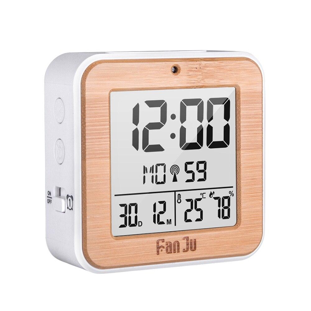 Многофункциональный ЖК-дисплей Дисплей будильник домашнего Температура время даты Дисплей Портативный цифровые часы для путешествий Бизн...