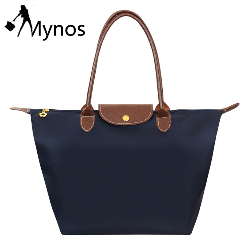Mynos Fashion Nylon Hobos Women Bag Crossbody Bag Ladies Female Shoulder Bag Tote Handbag Top Handle Bag Sac A Main Bolsos Femme