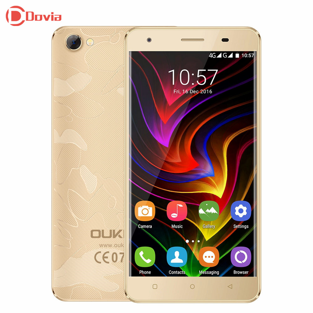 4G Smartphone OUKITEL C5 Pro 5 0 inch Android 6 0 Telephone MTK6737 Quad Core 2GB