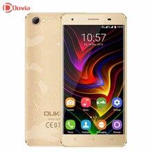 4 г смартфон oukitel c5 pro 5.0 дюймов android 6.0 телефон mtk6737 Quad Core 2 ГБ RAM 16 ГБ ROM Dual Фотоаппараты 2000 мАч Мобильного Телефона