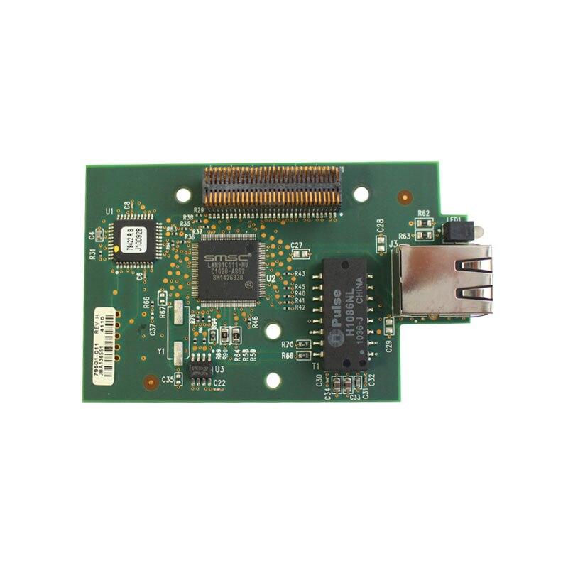 Printer Built-in Network Card For Zebra ZM400 ZM600 Xi4 Series Internal Printer Server Ethernet Card,79823 79501-011,Used