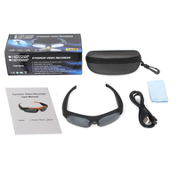 WD SM16 HD 1080P Sunglasses Camera Mini Camcorder Eyewear Video Recorder Wide Angle 120 Degrees Sports