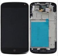 Black Full LCD Display Monitor Panel Touch Screen Digitizer Sensor Glass Assembly For LG Google Nexus