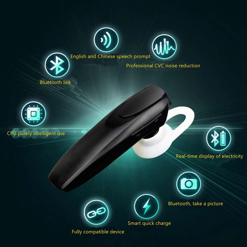 Wireless Bluetooth Headphones Hands-free 4.0 Bluetooth Earphone with Noise Cancelling Mic Headset for IPhone Samsung Xiaomi a01 bluetooth headset v4 1 wireless headphones noise cancelling with mic handsfree earpiece for driving ios android