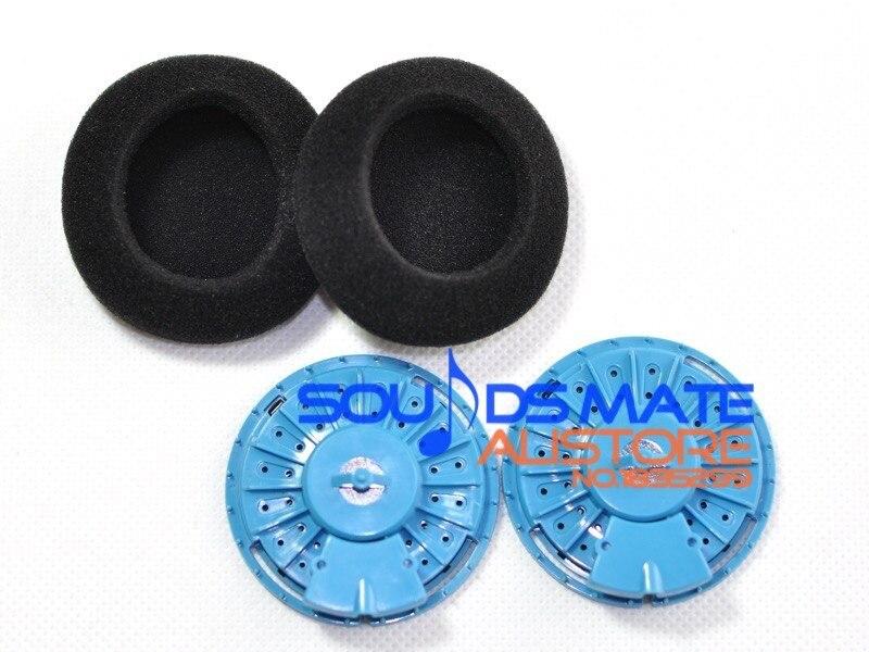 Substituição azul fone de ouvido peças alto-falantes drivers de som para koss pp portapro porta-pro fones de ouvido portátil
