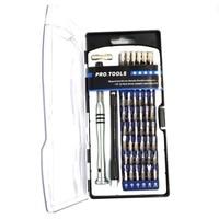 Precisión 58 en 1 electrón Torx juego de herramientas con destornillador magnético kit de herramientas de mano de apertura reparar herramientas 50set|Juegos de herramientas manuales| |  -