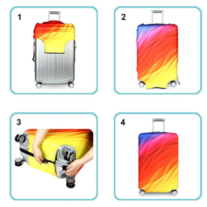 Image 5 - JULYS SONG Bag Set Protective Cover Luggage Case Travel Accessories Elastic Luggage Strap Apply to 18 32 Suitcase