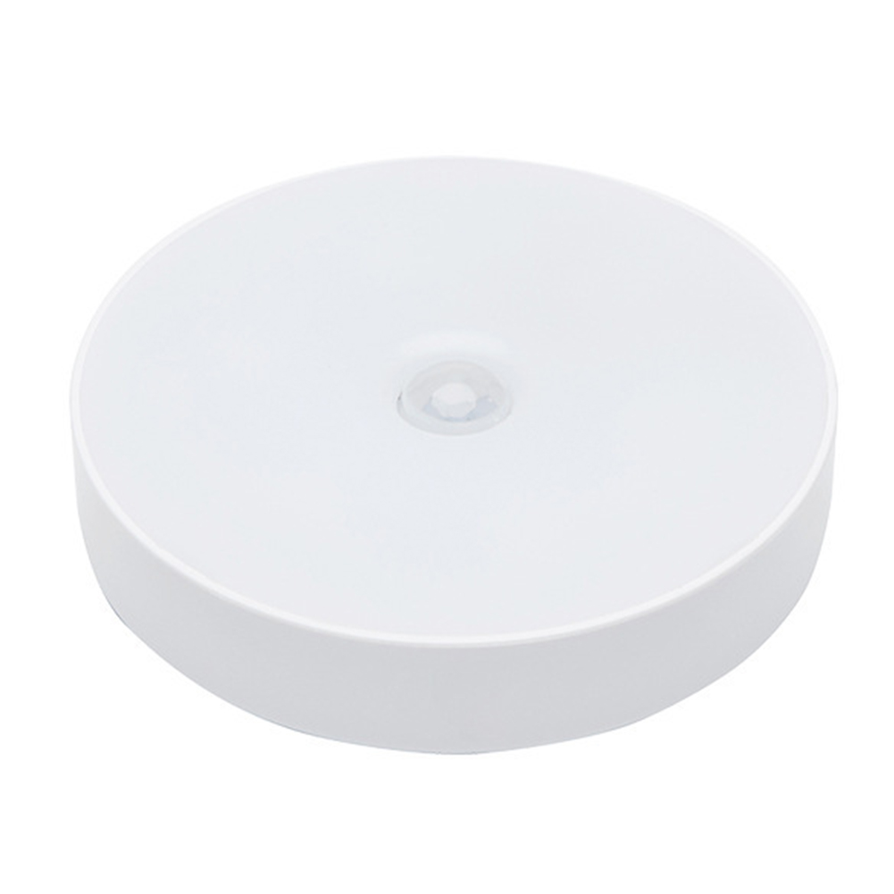 Automatic Magnetic Base USB Rechargeable Night Light Adhesive Led Indoor Decor Corridor Lamp ABS Bedroom Motion Sensor Portable