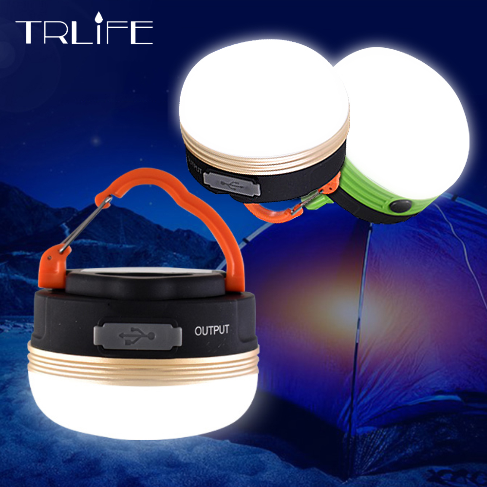 Mini Portable Lantern Tent Light Camping Lights Emergency Lamps Waterproof Hang Magnent Flashlight Camping AAA USB Rechargeable