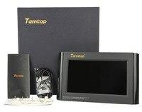 Temtop P1000 мониторинга качества воздуха для PM2.5 PM10 CO2 Температура влажность в помещении детектор большой ЖК дисплей Дисплей встроенный Перезар