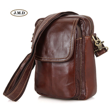 J.M.D New Arrivals High Quality Genuine Leather Brown Multifunctional Design Chest Bag Men's Fashion Style Shoulder Bag 1004B  цена 2017