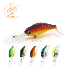 Thritop Minnow Fishing Lure 10.5cm 15g 5 Numerous Colours For Choice TP064 Robust Hooks Synthetic Bait Fishing Deal with Equipment