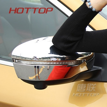 ABS Chromed Side Door Rearview Mirror Cover Trims Car Accessories Fit For Nissan Qashqai 2016 2017