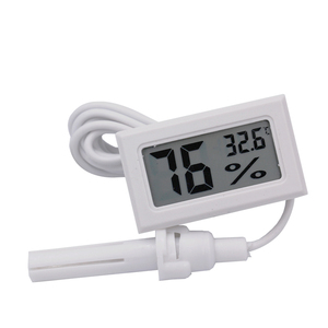 Image 5 - Bộ 100 Màn Hình LCD Kỹ Thuật Số Trong Nhà Tiện Lợi Cảm Biến Nhiệt Độ Đồng Hồ Đo Độ Ẩm Nhiệt Kế Ẩm Kế Đo 20%