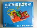 Elenco электронные оснастки схемы блоков комплект, Развивающие обучения Assembed игрушки , установленные для детей 58 проектов