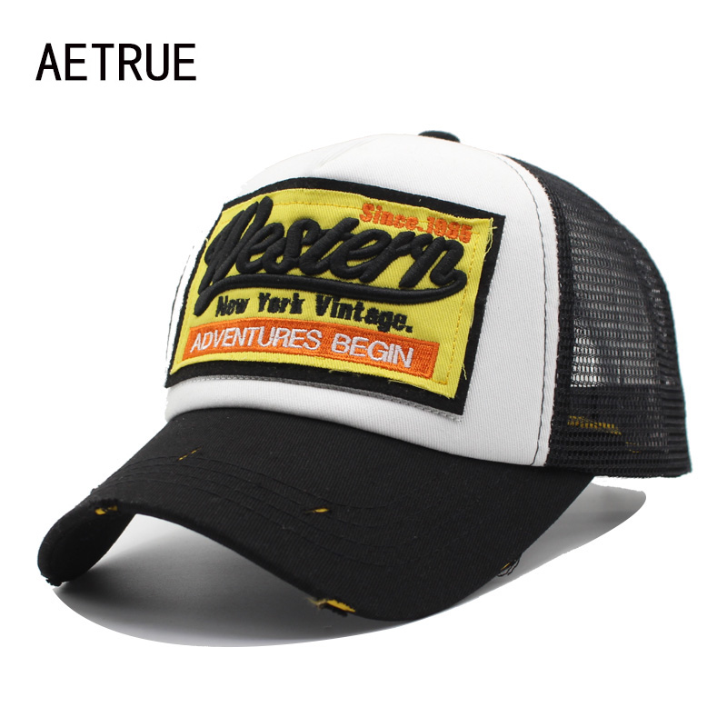 Buy AETRUE Baseball Cap Men Women Hats For Men Embroidery Snapback Casquette Bone Mesh Summer Hip hop Gorras Fashion Dad Caps Hat for $5.40 in AliExpress store