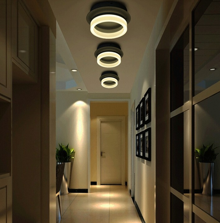 Us 55 3 30 Off Modern Led Lamp Ceiling Lights Surface Mounted Lighting Fixture For Home Bedroom Living Room In From