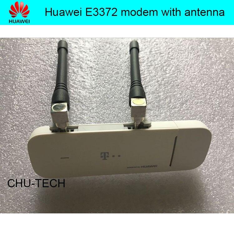Dongle USB débloqué HUAWEI E3372 E3372h-153 150 Mpbs 4G LTE avec antenne