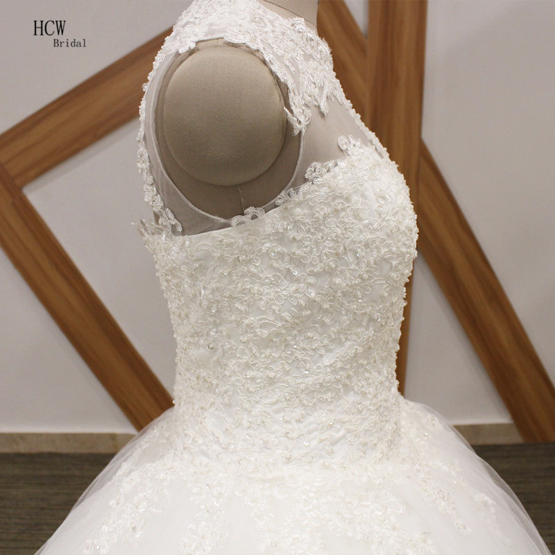 a08cf57d047 Vintage Princess Wedding Dress 2019 Lace Top Puffy Tulle Open Back Plus  Size Wedding Gowns Vestido De Noiva African Bridal Gowns-in Wedding Dresses  from ...