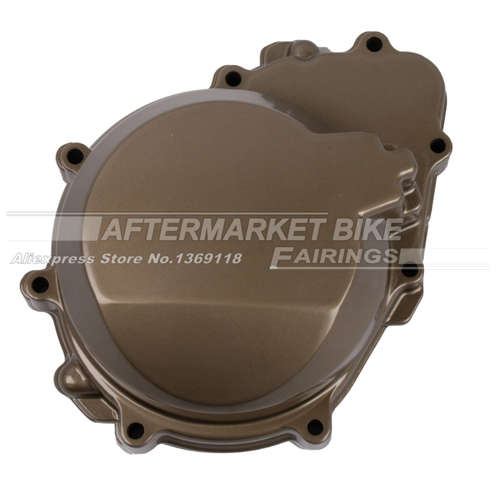 Motorcycle LEFT Crankcase For Kawasaki ZX6R ZX636 2003 2004 Engine Stator Crank Case Generator Cover lifan 125 125cc engine left crankcase stator rotor casing case dirt bike atv