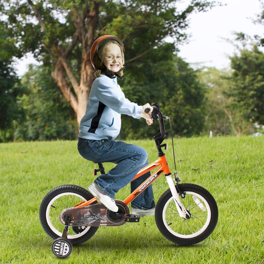 BMX cyclisme enfant vélos enfants vélo fille garçon 12-16 pouces roue d'entraînement - 6