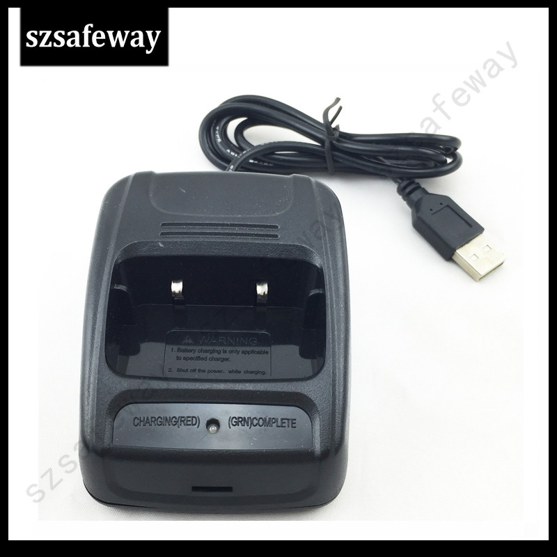 NEW USB Charger For Baofeng Two Way Radio Walkie Talkie BF-888s Charger For Baofeng 888 BF 777S Baofeng 888s Accessories