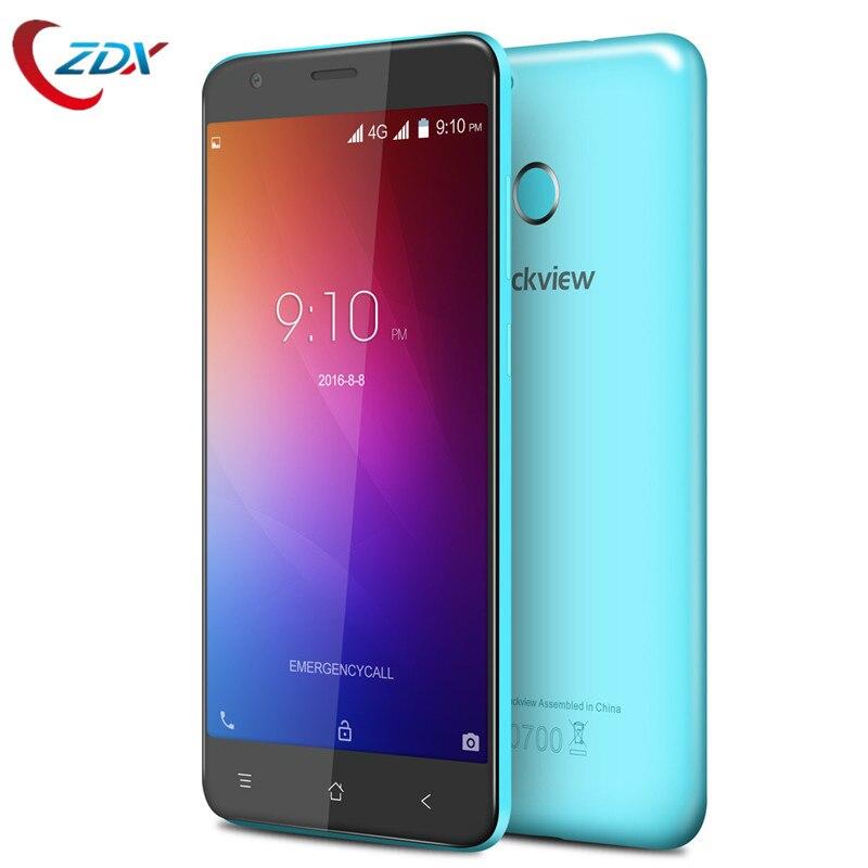 bilder für Freies Geschenk! blackview e7s handy android 6.0 mtk6580 quad core 2 gb ram 16 gb rom smartphone 3g wcdma anti-fingerprint-handy-bildschirm handys