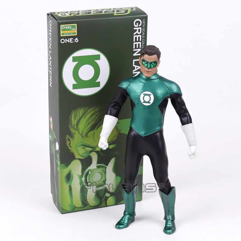 цена Crazy Toys Green Lantern 1/6 th Scale PVC Action Figure Collectible Model Toy 12inch 30cm в интернет-магазинах