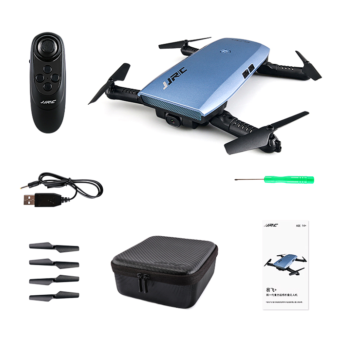 JJRC H47 ELFIE Foldable RC Pocket Selfie Drone RTF WiFi FPV HD Camera Upgraded Foldable Arm RC Drone Quadcopter Helicopter jjrc h47 mini drone with 720p hd camera elfie plus g sensor control foldable rc pocket selfie dron wifi fpv quadcopter helicopte