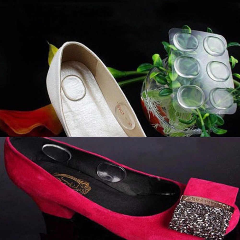 Gootrades ซิลิโคนเจลรองเท้า Insole Pad Cushion Heel Grips Liner