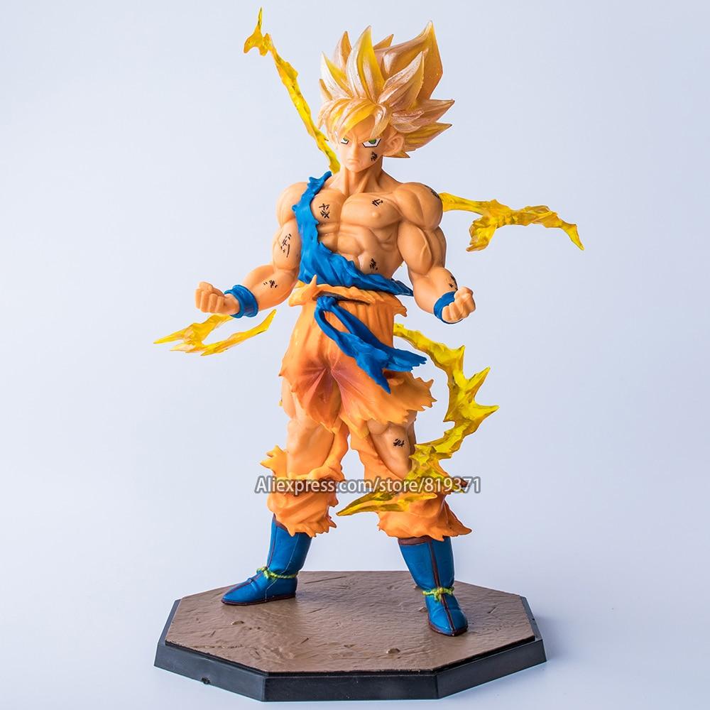 Dragon Ball Z Son Goku PVC Figurine Statues Anime Figure Toy Figurine