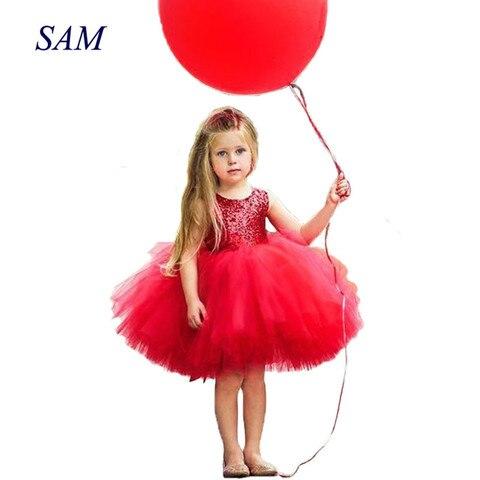 princesa criancas bebe fantasia vestido de casamento sleeveles lantejoulas vestido de festa para a menina