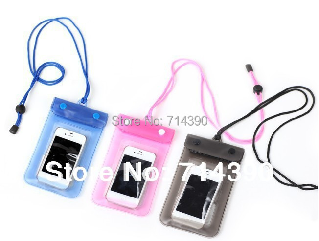 Digital Camera Mobile Phone Waterproof PVC Bag Case Underwater Pouch for iPhone5,Free shipping, Retail &Wholesale