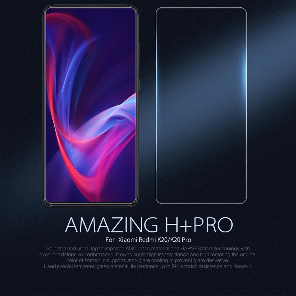 Xiaomi Redmi K20 Glass Redmi K20 Pro Screen Protector Nillkin H+PRO 2.5D Transparent Clear Screen Protector Safety Glass