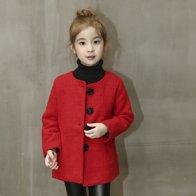 62f22cfc0d65 New Girl Jacket THICKNESS Winter Autumn Girl Coat Blazer Manteau ...