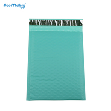 10pcs 8.5x11inch 235*280mm Poly Bubble Mailing Mailer Shipping Padded Envelope Bags Light green Shockproof Courier Bubble mailer